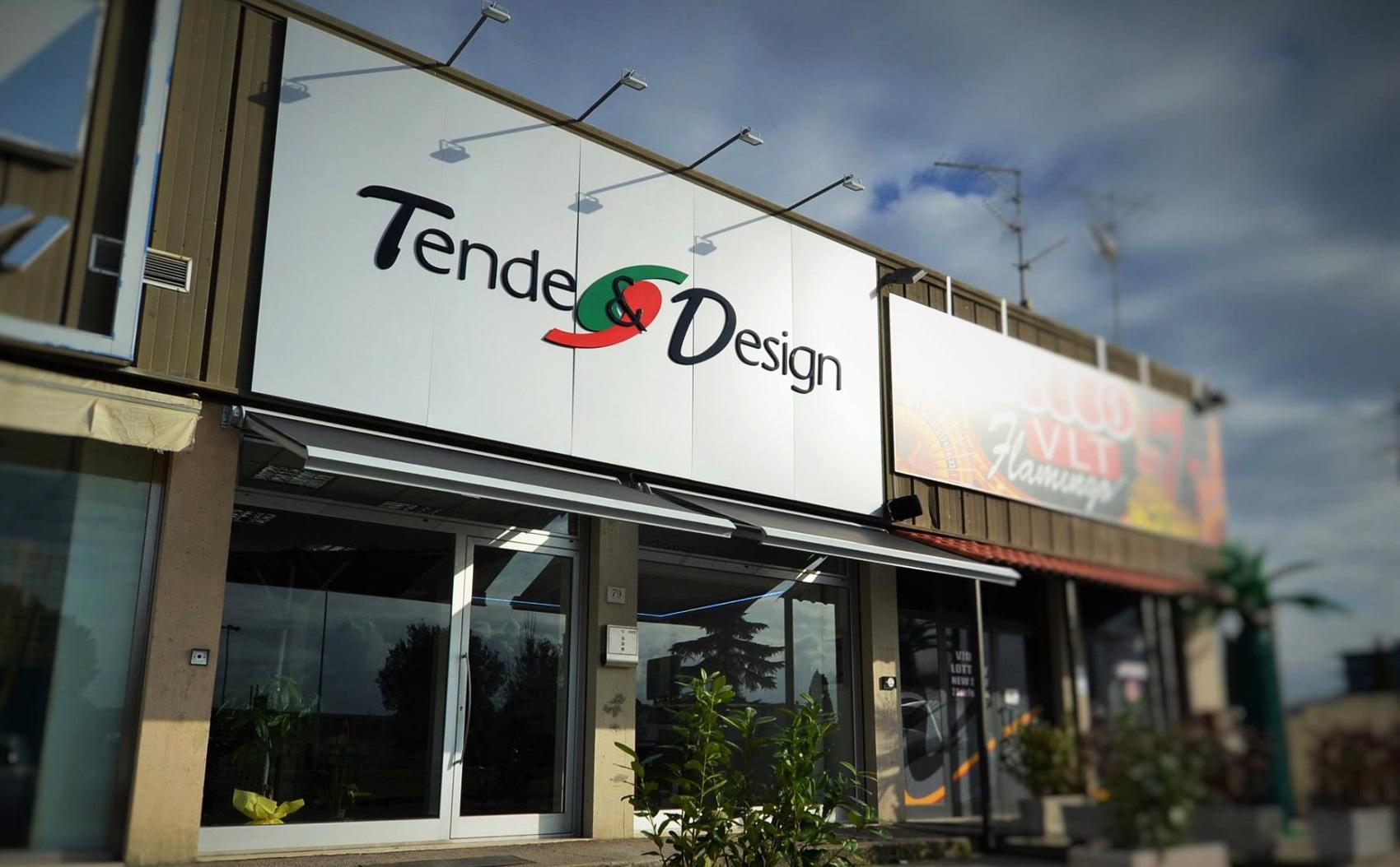 tende e design punto vendita